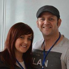 Claire McArthur and Paul Bain