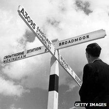 Sign for Broadmoor