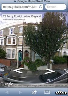 Street View web app