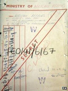 Documents from the National Archives