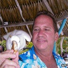 Undated photograph showing US citizen Gregory Viant Faull(52) who was murdered in Ambergris Caye, Belize