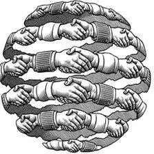 Hands forming the shape of a globe
