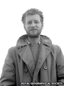 James, now Jan, Morris in 1953