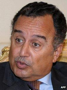 """Egypt""""s newly appointed foreign minister Nabil Fahmy"""