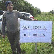 Rural protester Tom Ward