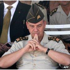 This picture taken on August 6, 2008 shows Turkish chief of staff Ilker Basbug in Ankara