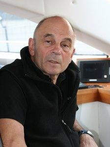 Captain Gerard d'Aboville