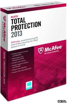 McAfee software