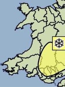 Map eira Cymru