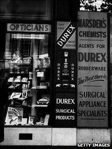 A chemists shop from 1955