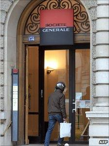 Man enters SocGen branch
