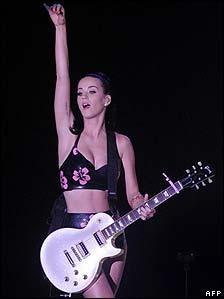 Katy Perry performing in Singapore this week