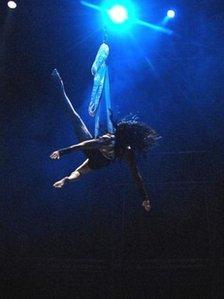 Tabu performer (Pic: Mark Robson)