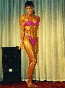 Sharon Naylor in her early 20s