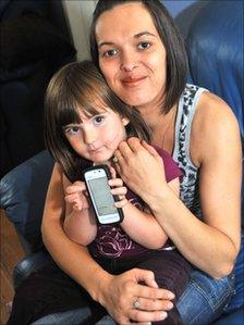 Hazel Neil with daughter Rebecca