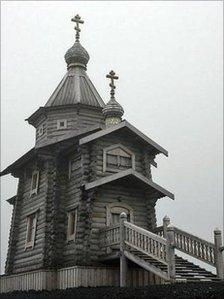 Trinity Church in Antartica
