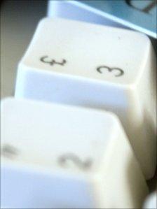 Keyboard close-up