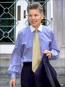 Gary Condit in 2001