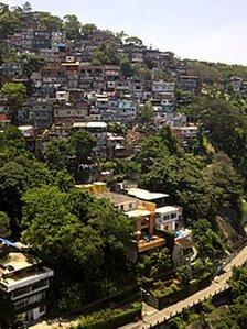 Vidigal Favela in Rio