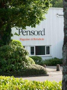 The Pensord plant