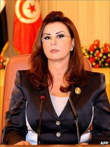 Leila Trabelsi (28 October 2010)