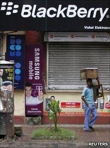 Blackberry in India