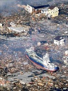 Japan earthquake aftermath