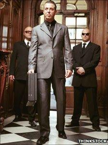Two bodyguards