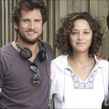 Guillaume Canet with Marion Cotillard