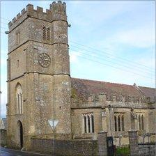 St Giles Church, Chideock.