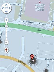 Police UK website crime map