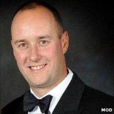 Lt Cdr Ian Molyneux, who was shot dead
