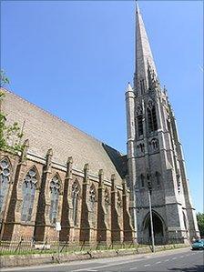 St Walburge's Church in Preston