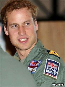 Prince William photographed in 2008