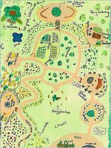 Hannah Clegg's Olympic Garden design