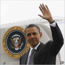 President Barack Obama in Deauville, France, 26 May 11