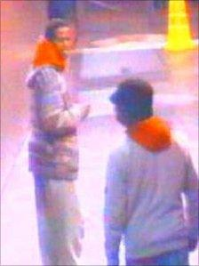 CCTV stills of Mohamed Abdi Farah(wearing hat) and Amin Ahmed Ismail