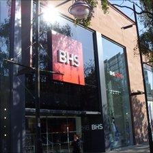 The new BHS store