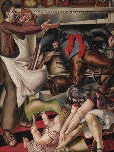 Workmen in the House, 1935, by Sir Stanley Spencer