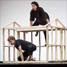 Marina Abramovic and Willem Dafoe. Photo: Antony Crook