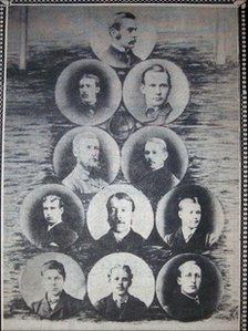 The Spilsby Town team of 1882