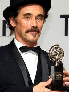 Mark Rylance at the 65th annual Tony Awards in New York