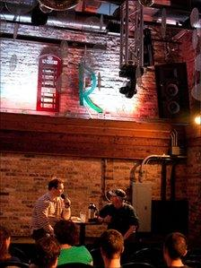 Roscoe's bar, Chicago