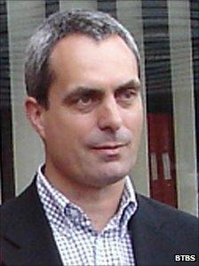 David Tebbutt, shot dead in Kenya in September 2011 (undated file photo)