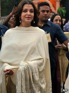 Aishwarya Rai Bachchan in October 2011