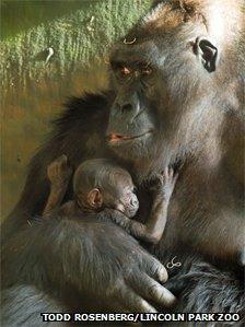 Bana and baby
