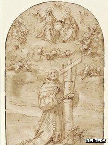 Guglielmo Caccia's St Diego de Alcala