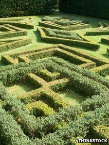 A knot-garden