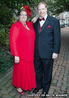 Anita Wagner and her husband Tim