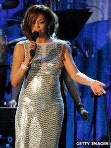 Whitney Houston in 2011